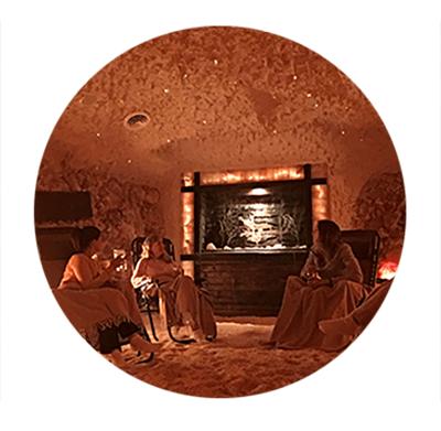 Salt Cave room